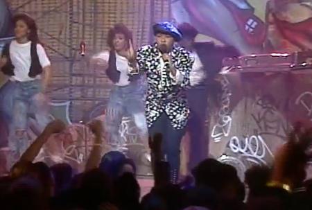 Screen Capture of I Wanna Make You Mine Live Performance